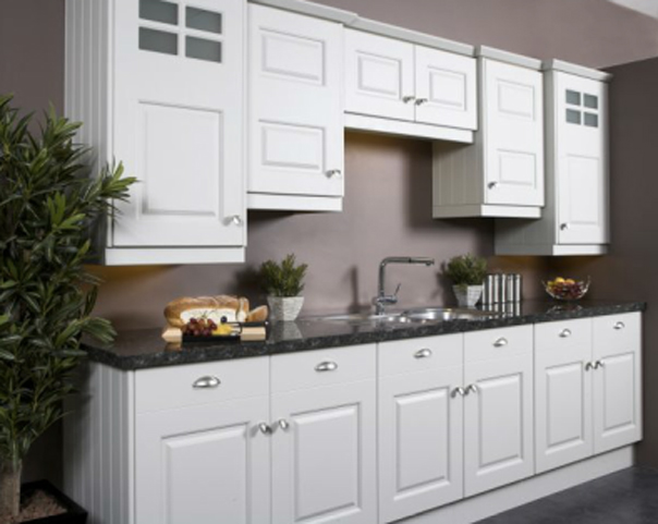 Flint grey PVC Kitchen Gurteen Kitchens Gurteen Knock Road Ballyhaunis