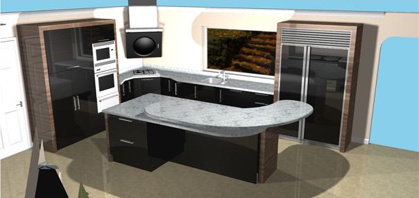 Gurteen Kitchens 3D CAD Drawings Gurteen Knock Road  ...