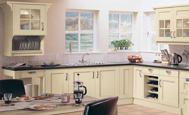 Beaufort Painted Cream Kitchens, Gurteen Kitchens, Gurteen, Knock Road