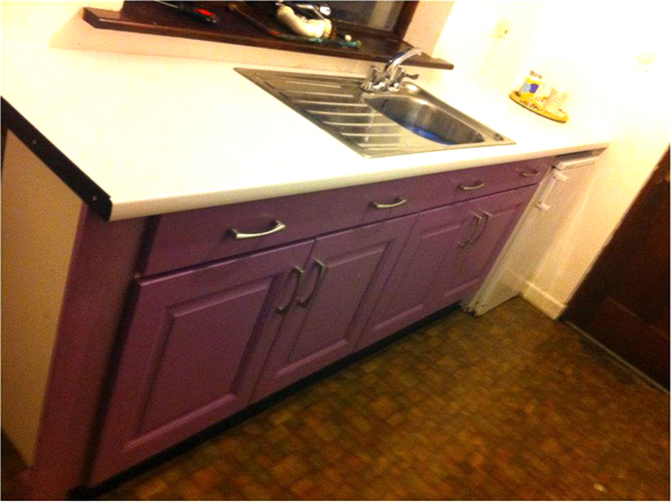 Solid-Painted-Purple-door-and-white-worktop-in-kitchen-Knock-Co.Mayo-Ireland-001